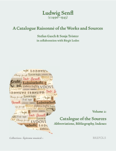 Senfl-Katalog, Band 2, Cover