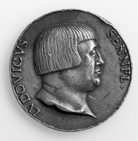 Medaille 1529, Vorderseite