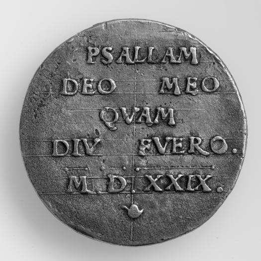 Medaille 1529, Rückseite