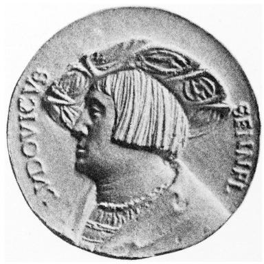 Medaille 1519, Vorderseite