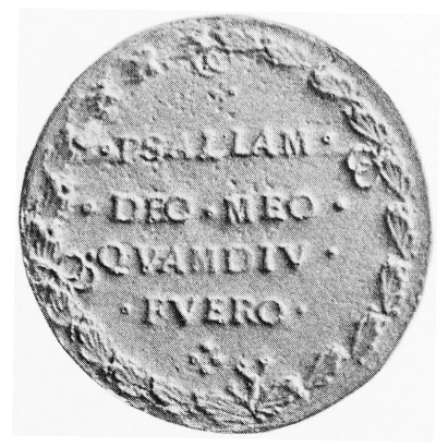 Medaille 1519, Rückseite